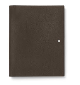 Graf-von-Faber-Castell - Writing case A4 Cashmere, dark brown