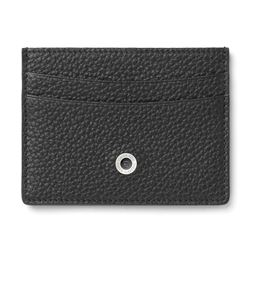Graf-von-Faber-Castell - Two-sided credit card case Cashmere, black