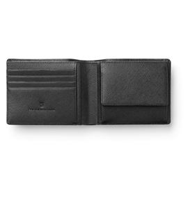 Graf-von-Faber-Castell - Wallet, black Saffiano leather